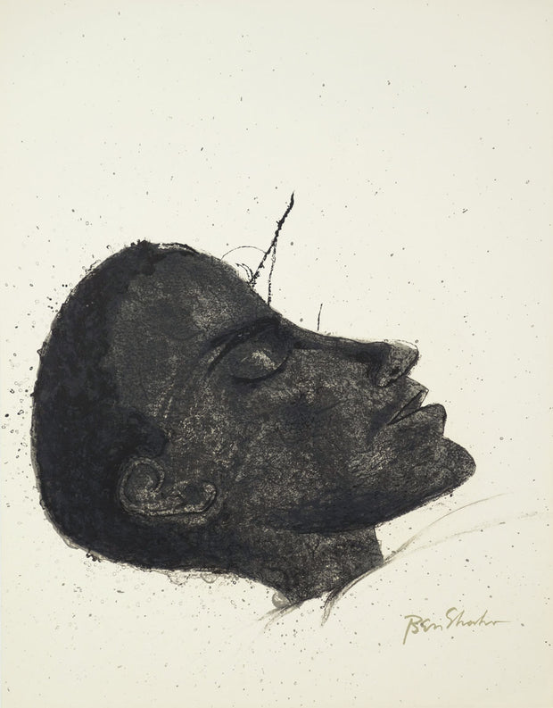 XX Beside the Dying by Ben Shahn - Davidson Galleries