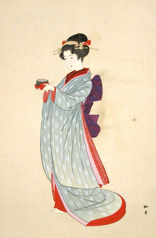 Merchant's Daughter - Bunkyu by Yukawa Shodo - Davidson Galleries