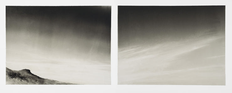 Sky Diptych by Wendy Orville - Davidson Galleries