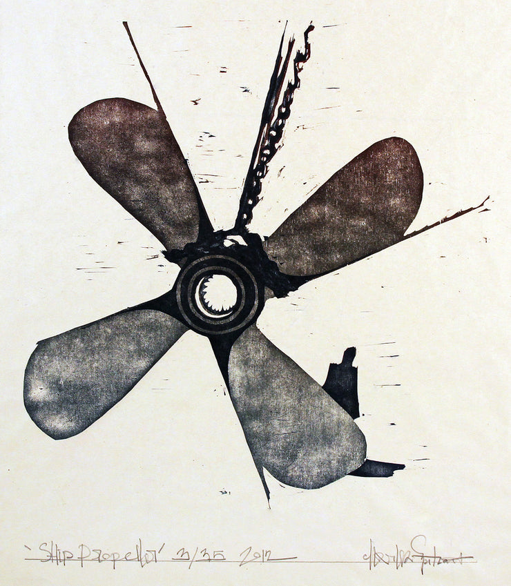 Ship Propellor by Charles Spitzack - Davidson Galleries