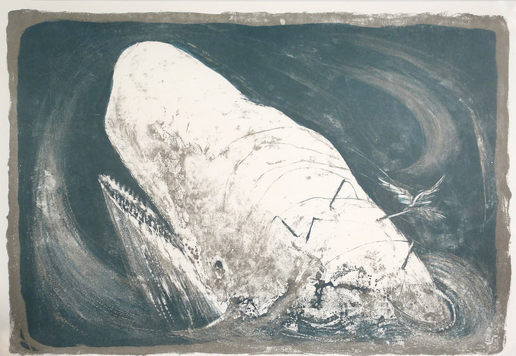 Moby Dick: The Passion of Ahab Portfolio (Portfolio fo 26 lithoraphs) by Benton Murdoch Spruance - Davidson Galleries