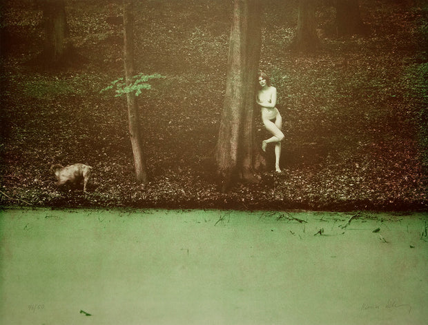 Nude In Forest by Karin Székessy - Davidson Galleries