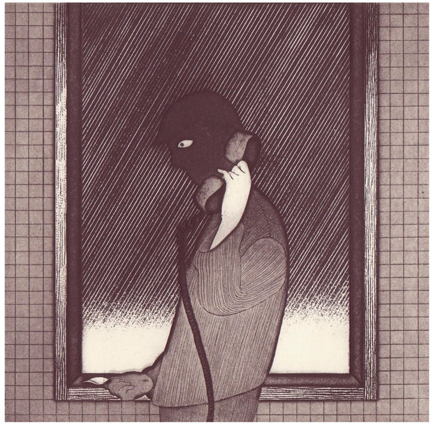 The One Who Hides by the Window I by Azumi Takeda - Davidson Galleries