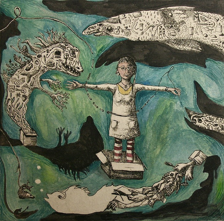 The Day She Discovered the Hoarding Monsters by Deborah Maris Lader - Davidson Galleries