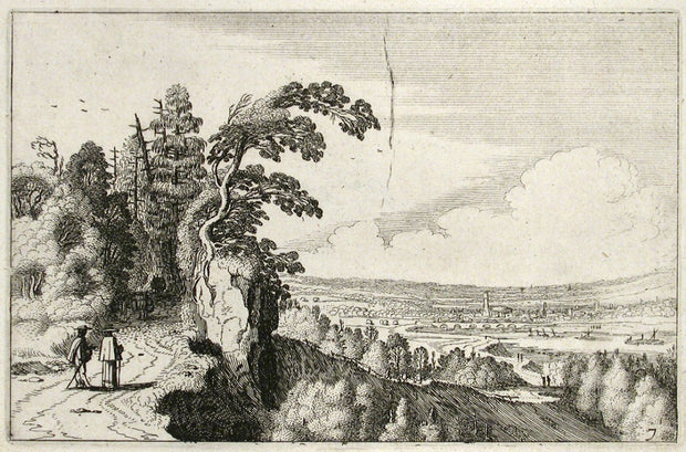 View of a Valley by Jan Van De Velde II - Davidson Galleries