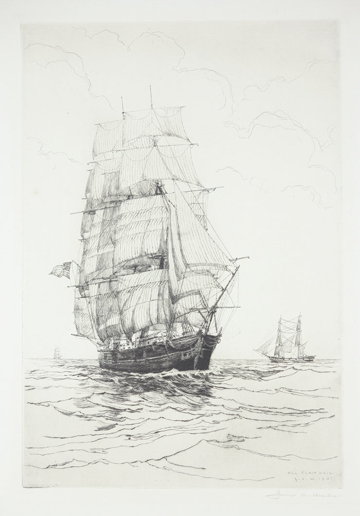 All Plain Sail by George C. Wales - Davidson Galleries