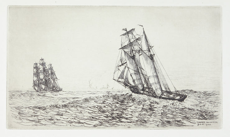 Yankee Privateer by George C. Wales - Davidson Galleries
