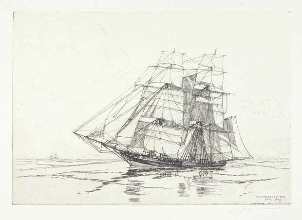 Baltimore Clipper by George C. Wales - Davidson Galleries