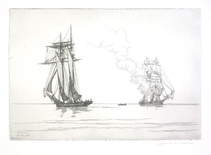 Piracy by George C. Wales - Davidson Galleries