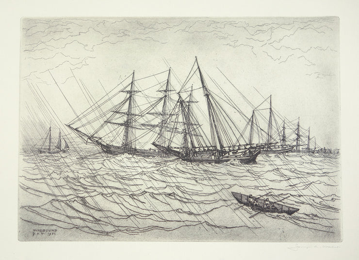 Windbound by George C. Wales - Davidson Galleries