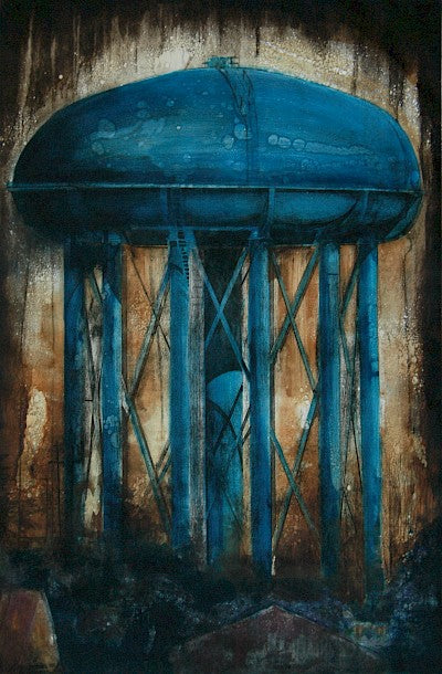 Watertower, Seattle by Jenny Robinson - Davidson Galleries