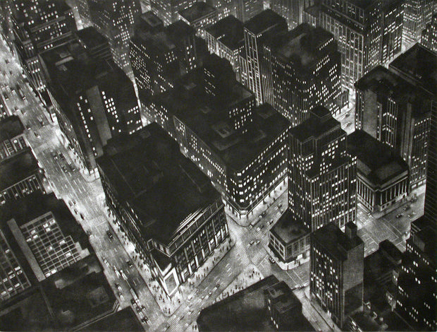 Night by Art Werger - Davidson Galleries