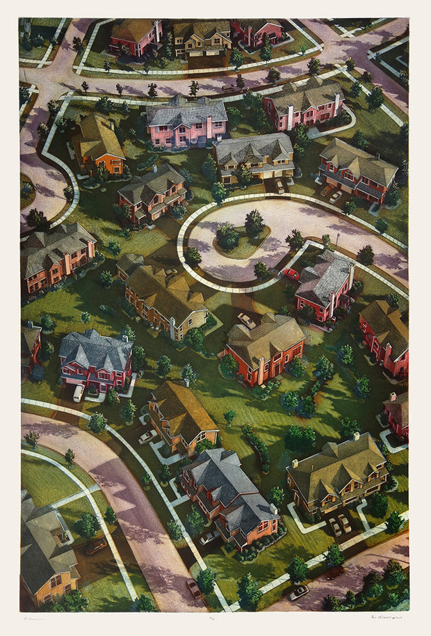 McMansions (color) by Art Werger - Davidson Galleries