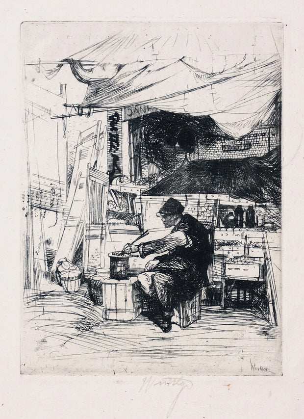 Chow Seller by John William J. Winkler - Davidson Galleries