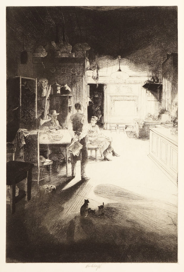 Chinese Drugstore - Plate C by John William J. Winkler - Davidson Galleries