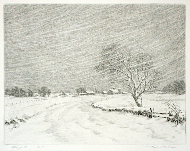 Blizzard by R. W. Woiceske - Davidson Galleries