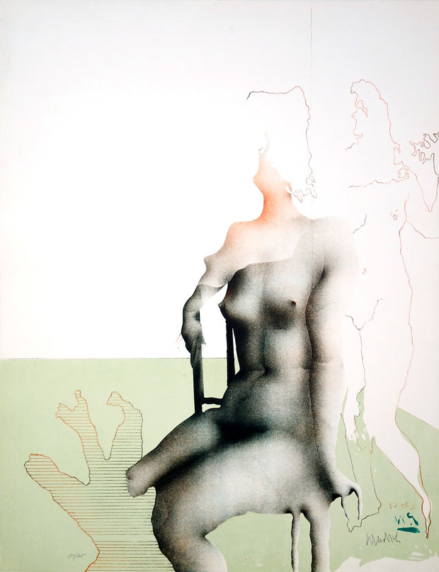 Bien Assise by Paul Wunderlich - Davidson Galleries