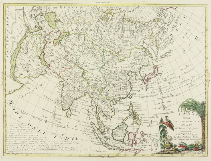 Map of Asia by Maps, Views, and Charts - Davidson Galleries