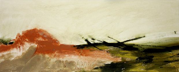 Landscape with a Vermillion Hill by Dion Pickering Zwirner - Davidson Galleries