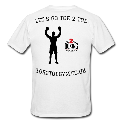 T-SHIRT - OFFICIAL LIMITED EDITION 'LETS GO TOE2TOE'