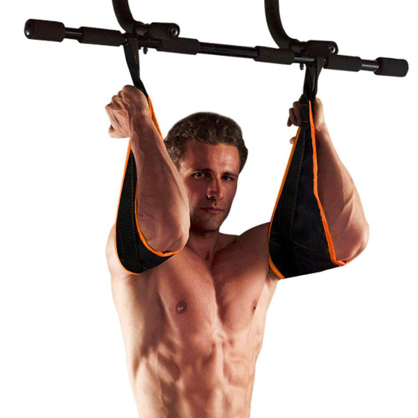 Professional Hanging Belly AB Trainer - Curly Shoulder Strap