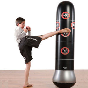 BEST BUY - 1.5M New Inflatable Punching Tower Stress Bag - Boxing