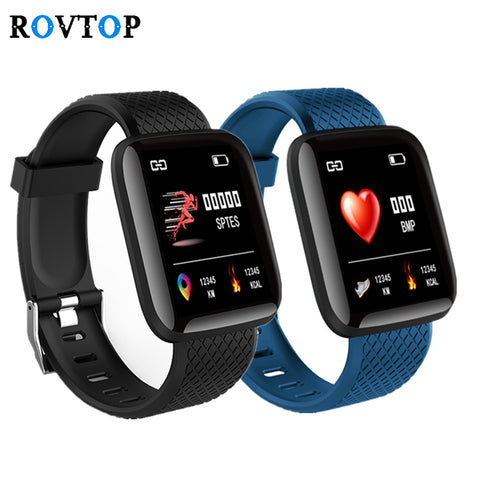 Smart Watch 116 Plus - Fitness Blood Pressure & Heart Rate