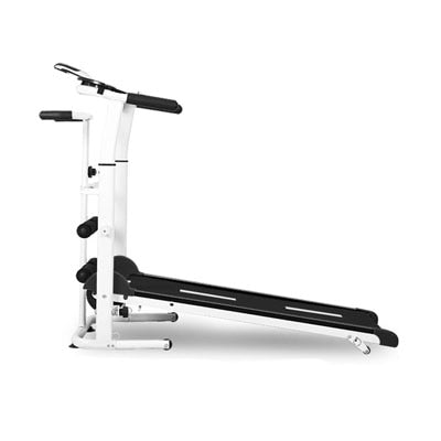 2020 NEW Folding Treadmill, Mechanical Multi-Function - Silent.