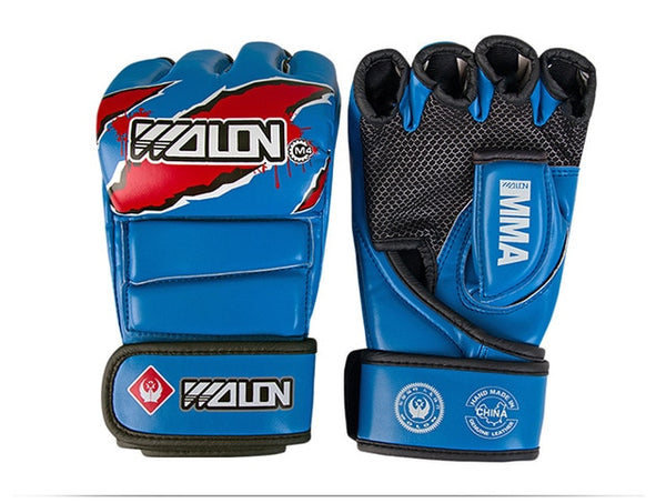 MMA Gloves 5 Colours High Quality PU Material