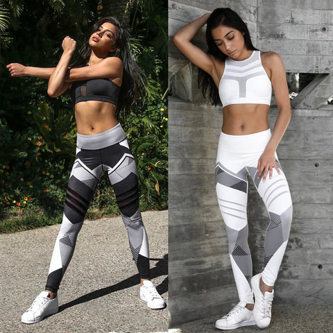 Women Quick Dry Sport Fitness Leggins - Outfit