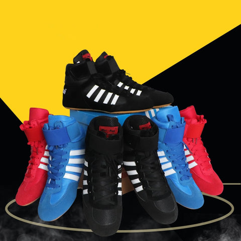 High Quality Boxing Wrestling Boots - Breathable