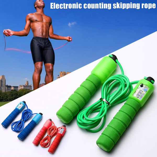 Jump Skipping Rope with Counter