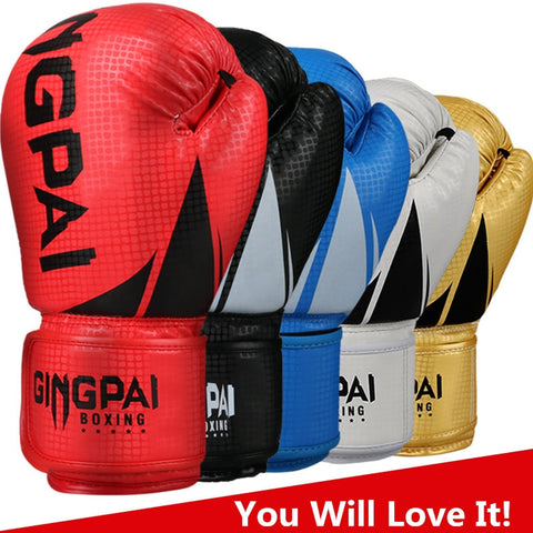 HIGH Quality Boxing Gloves - Leather