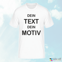Laden Sie das Bild in den Galerie-Viewer, Personalisiertes T-shirt / Kurzarm