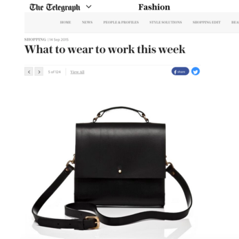Grace Gordon x The Telegraph
