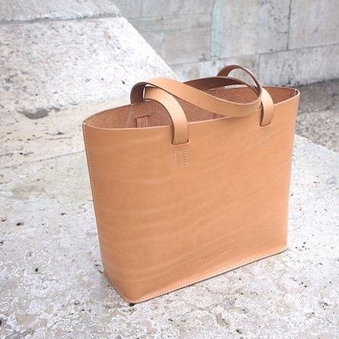 SHOP | Vegetable Tanned leather - Before and After
