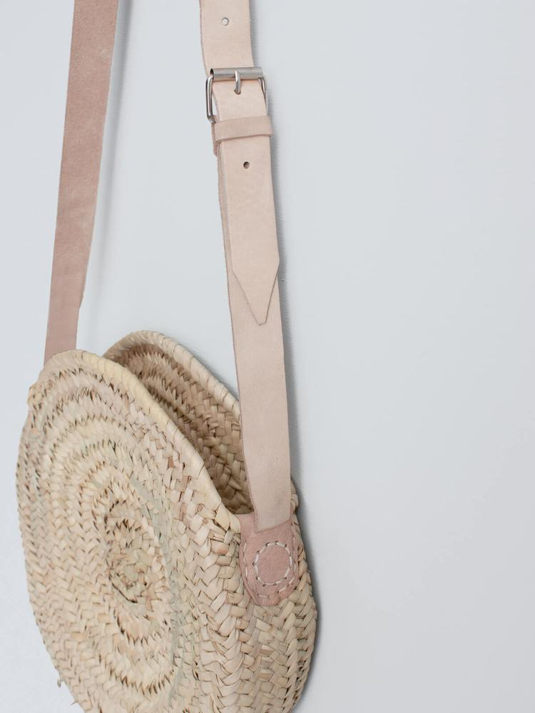Round Basket Crossbody, Basket Bag - Grace Gordon