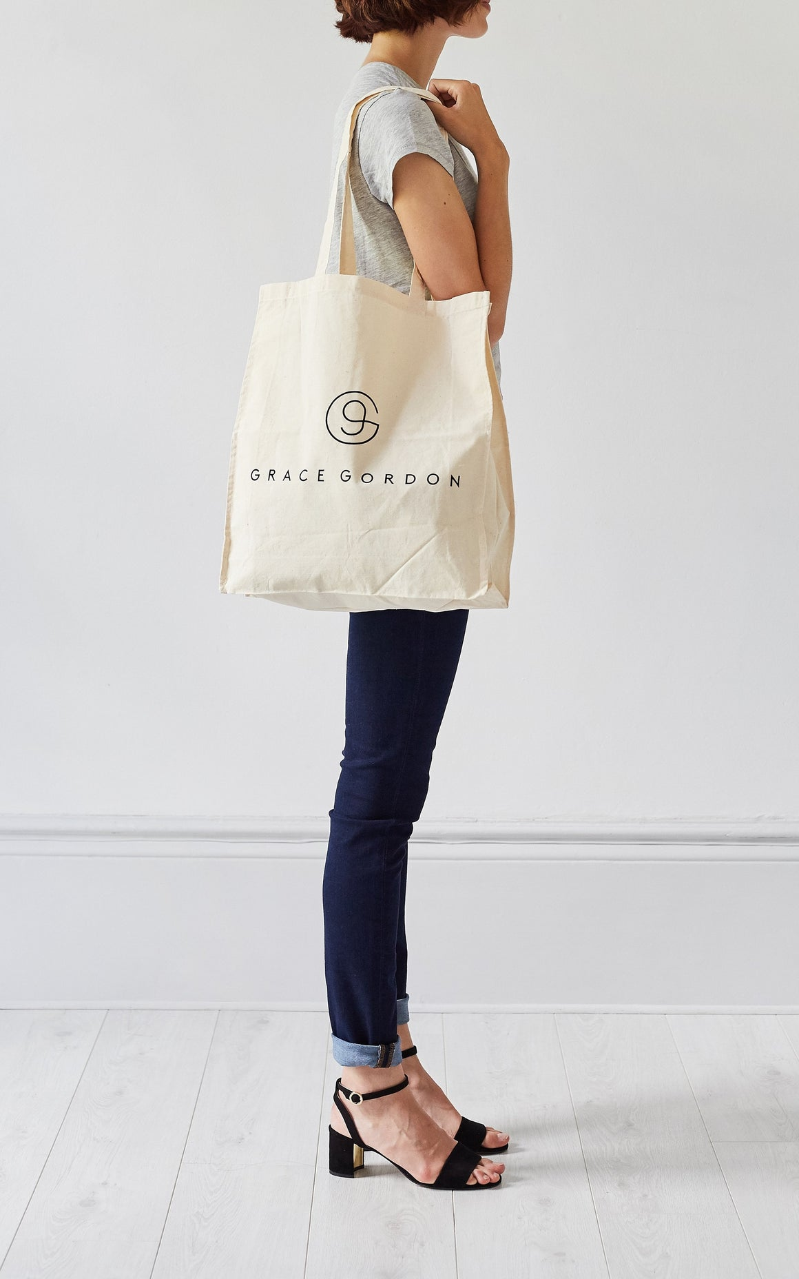 Cotton Canvas Shopper, Canvas Bag - Grace Gordon