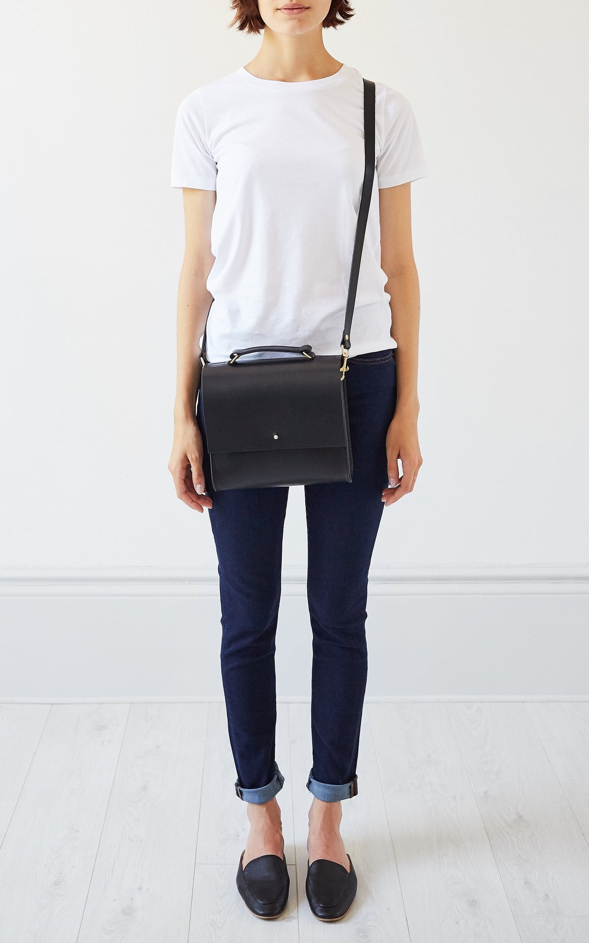 Lucy Cross-Body Black, Cross-body - Grace Gordon