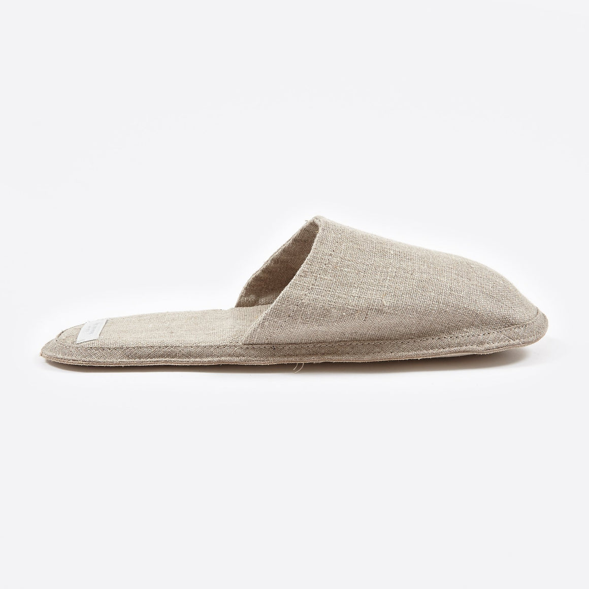 Natural Linen Slippers, Slippers - Grace Gordon