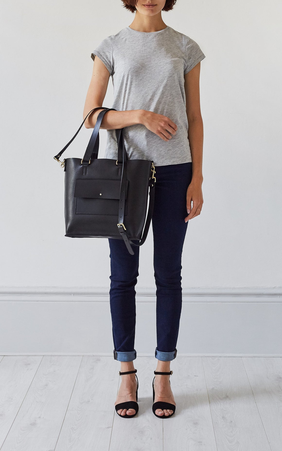 Tote - Eleanor Pocket Tote Black