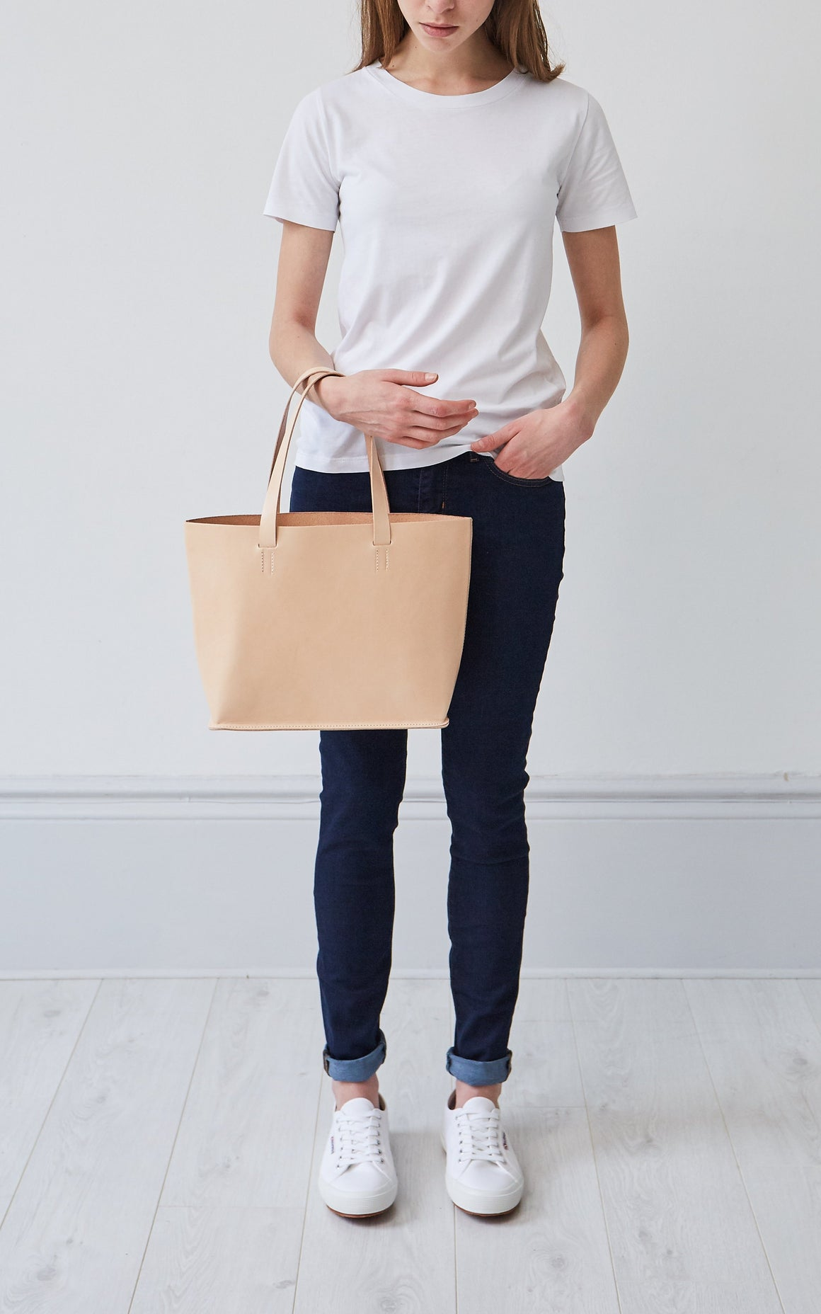 Ellie Leather Tote, Tote - Grace Gordon