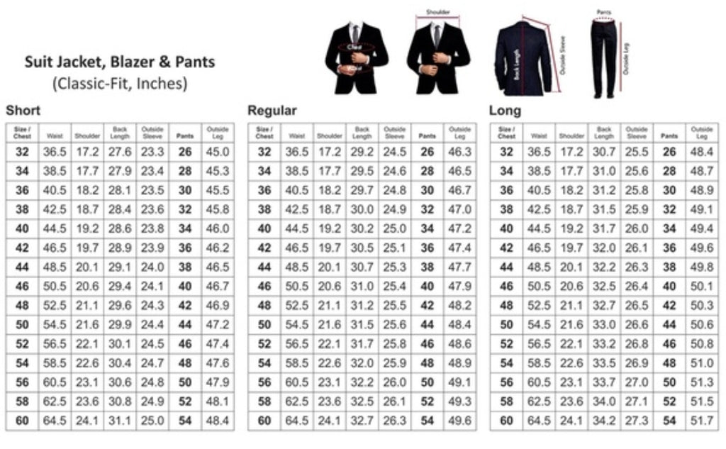 sizes and alterations