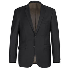 """World Traveler"" 100% Wool - Black Suit"