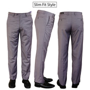 """World Tech"" Blend - Light Grey Dress Pants"