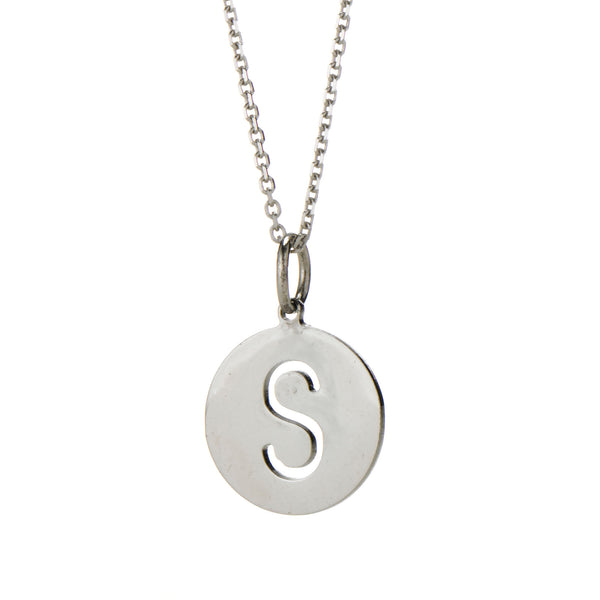 "PETITE- 1/2"" EVA INITIAL PENDANT FOR GIRLS"