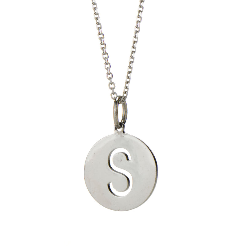 EVA INITIAL PENDANT FOR GIRLS