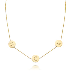 CARA MULTI CHARM NECKLACE