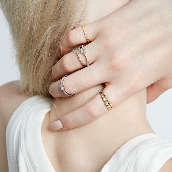 BLANCA 5-DIAMOND RING