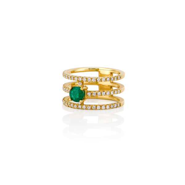 GIGI EMERALD RING